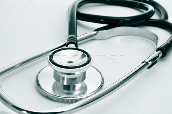 stethoscope on the desk of a doctor Stock photo © nito