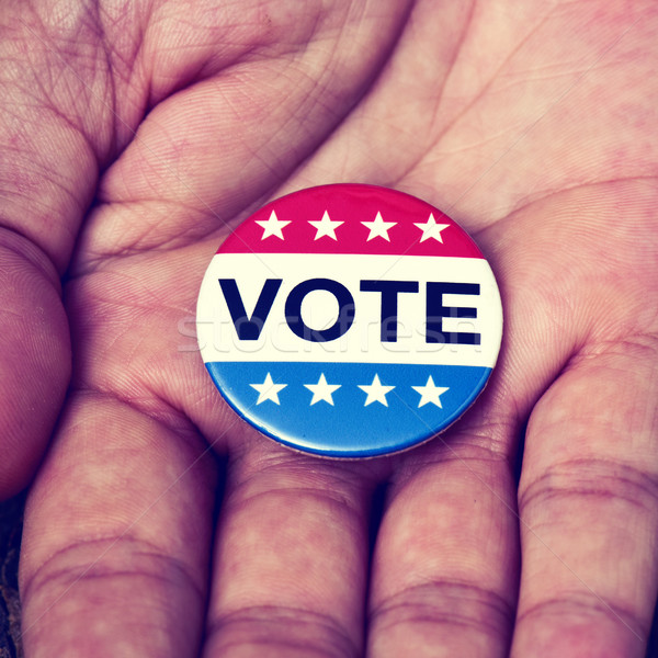 badge for the United States election Stock photo © nito