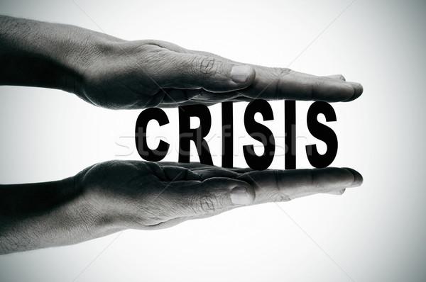 crisis Stock photo © nito