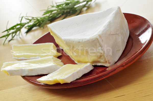 brie cheese Stock photo © nito