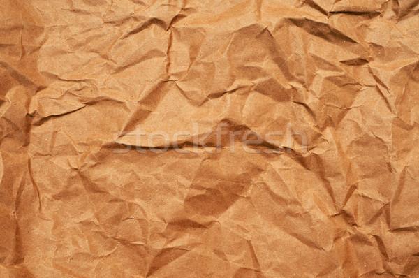 грубая оберточная бумага фон бумаги пространстве ретро Сток-фото © nito