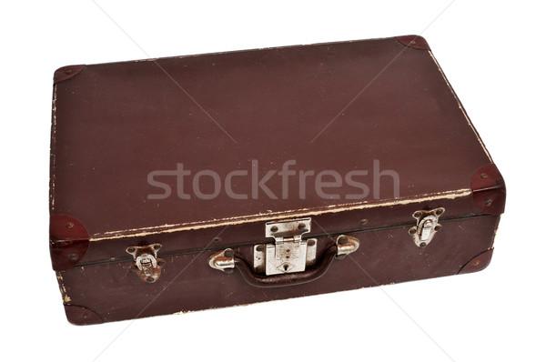 antique suitcase Stock photo © nito