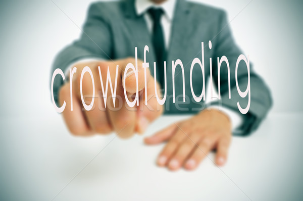crowdfunding Stock photo © nito