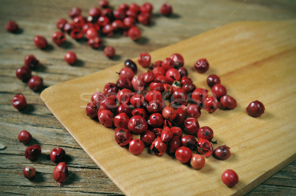 pink peppercorns Stock photo © nito