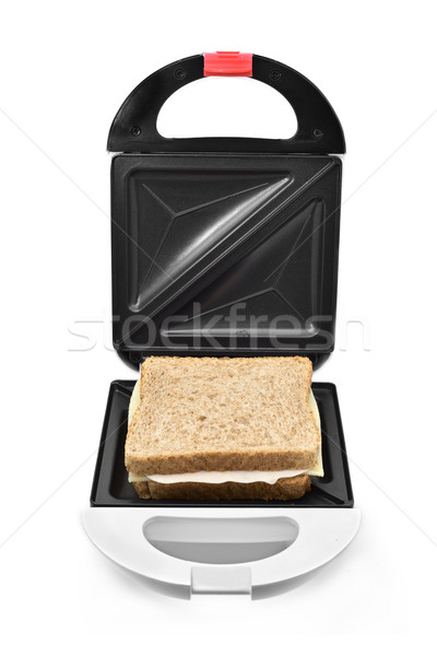 sandwich in a sandwich toaster Stock photo © nito
