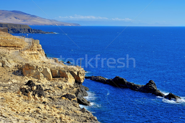 Stockfoto: Kust · Spanje · natuur · zee