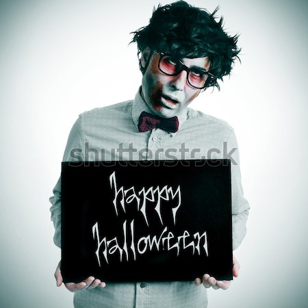trick or treat, with a retro effect Stock photo © nito