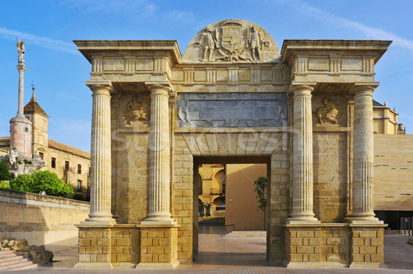 Puerta del Puente in Cordoba, Spain Stock photo © nito
