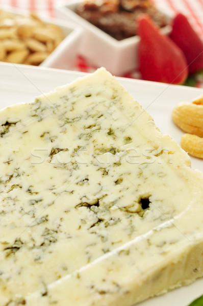 ロクフォール チーズ セット 表 クローズアップ プレート ストックフォト © nito