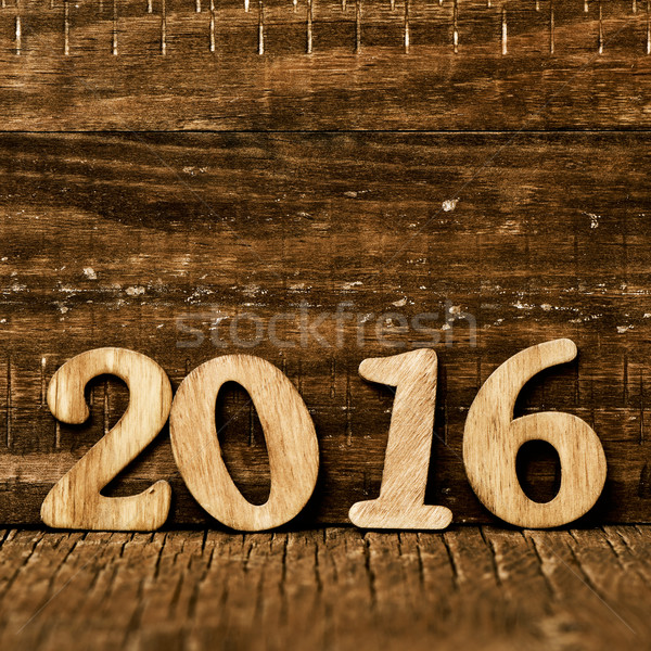 2016, as the new year Stock photo © nito