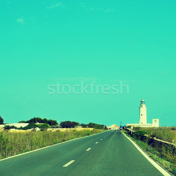 Far de la Mola in Formentera, Balearic Islands, Spain Stock photo © nito