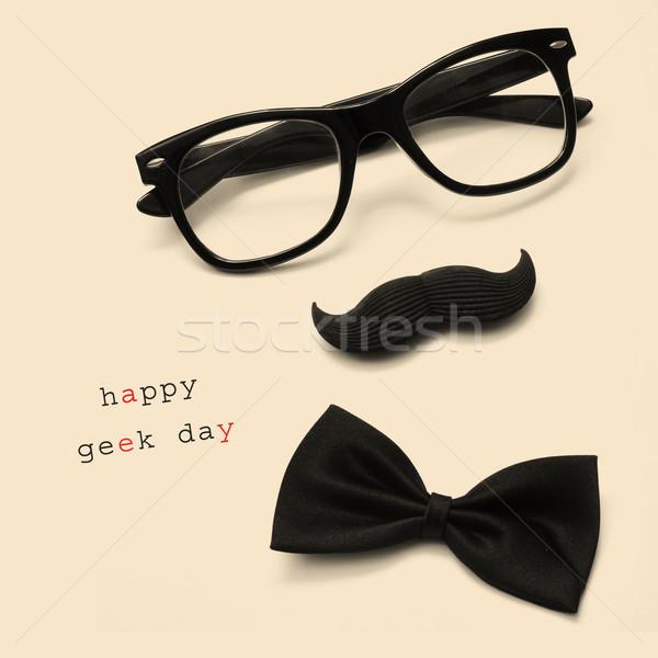 happy geek day Stock photo © nito