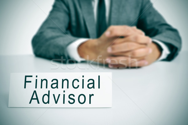 financial advisor Stock photo © nito