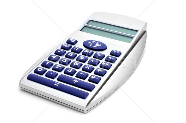 electronic calculator and Euro converter Stock photo © nito