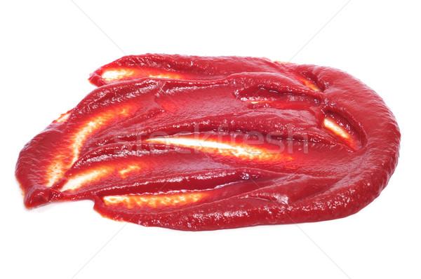 Salsa de tomate blanco cocina comer almuerzo comida Foto stock © nito