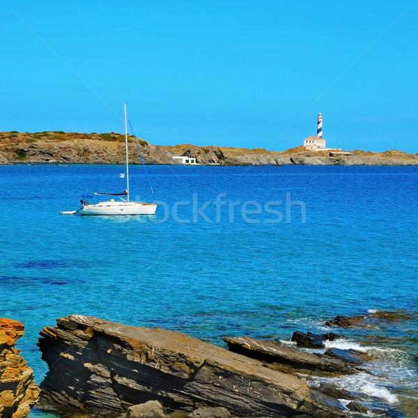 Baken eilanden Spanje gebouw natuur Stockfoto © nito