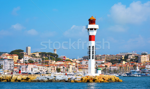 Vieux Port in Cannes, France Stock photo © nito