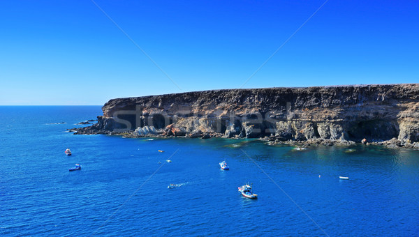 caves in Ajuy, Fuerteventura, Canary Islands, Spain Stock photo © nito