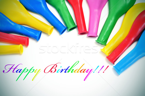 happy birthday Stock photo © nito