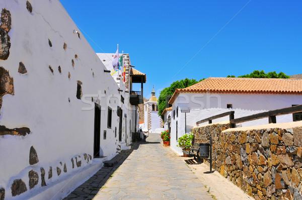 Канарские острова Испания мнение очаровательный улице зданий Сток-фото © nito