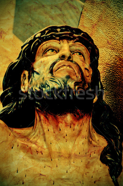 Jesus Christ in the Holy Cross Stock photo © nito