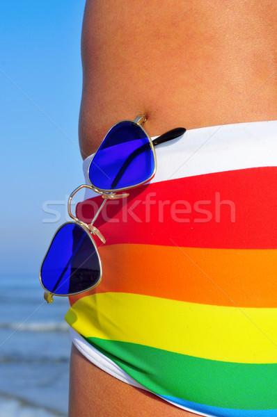 gay beach Stock photo © nito