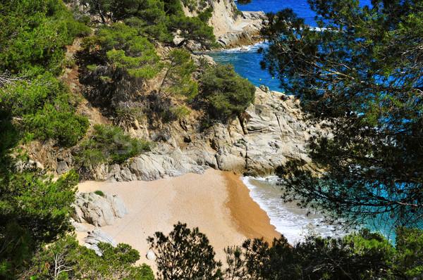 Cala den Carles beach in Tossa de Mar, Spain Stock photo © nito