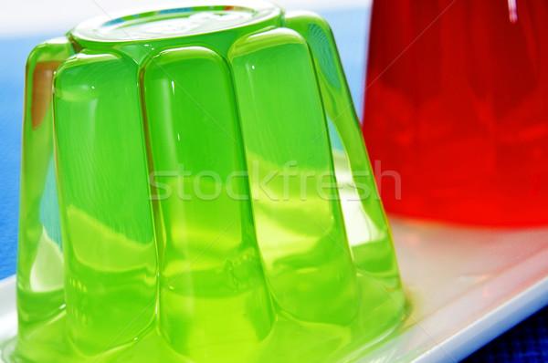 デザート クローズアップ プレート 異なる 味 ストックフォト © nito