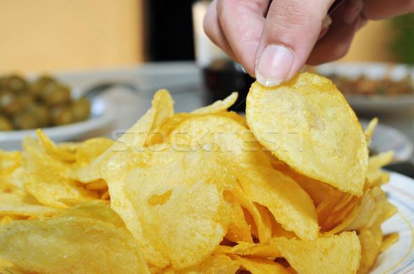 potato chips Stock photo © nito