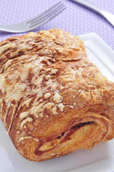 ham and cheese croissant Stock photo © nito