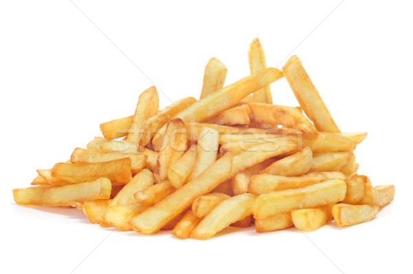 Frites françaises appétissant blanche alimentaire fond Photo stock © nito
