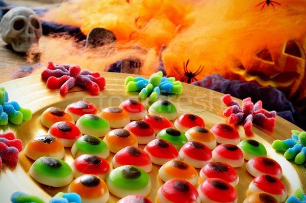 Halloween candies Stock photo © nito
