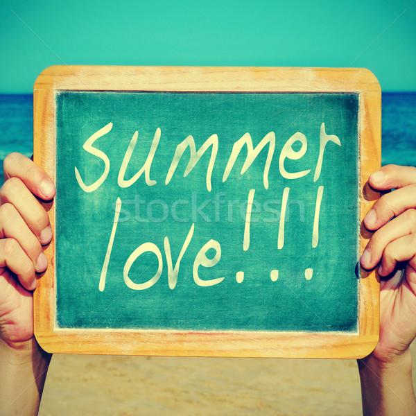 summer love Stock photo © nito