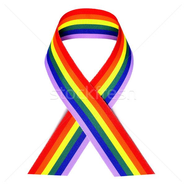 rainbow ribbon Stock photo © nito