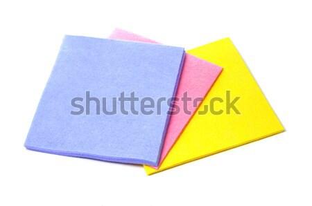 microfiber dishcloths Stock photo © nito