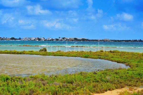 Estany Des Peix in Formentera, Balearic Islands, Spain Stock photo © nito