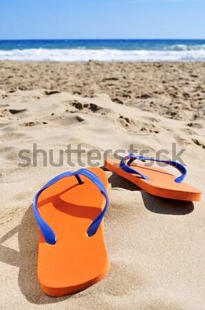 水着 砂 ビーチ オレンジ カラフル ファッション ストックフォト © nito