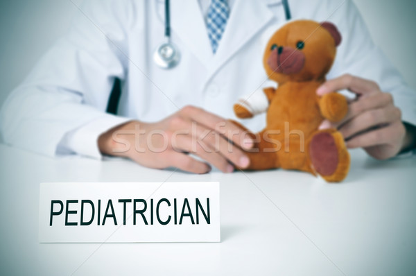 pediatrician Stock photo © nito