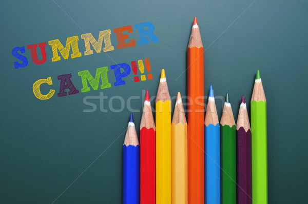 summer camp Stock photo © nito