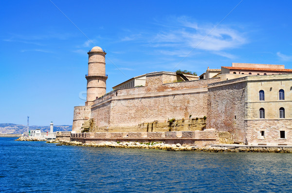 Fort Saint-Jean in Marseille, France Stock photo © nito