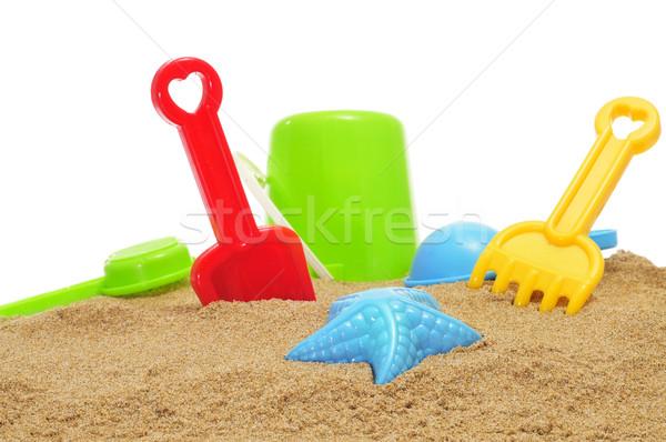 sand / beach toys on the sand Stock photo © nito