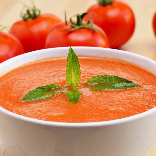 spanish gazpacho Stock photo © nito
