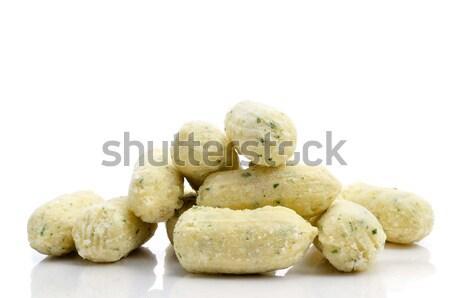 frozen croquetas de bacalao, spanish codfish croquettes Stock photo © nito