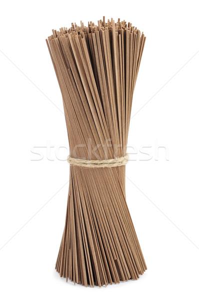 dried soba noodles Stock photo © nito