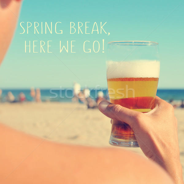 spring break, here we go Stock photo © nito