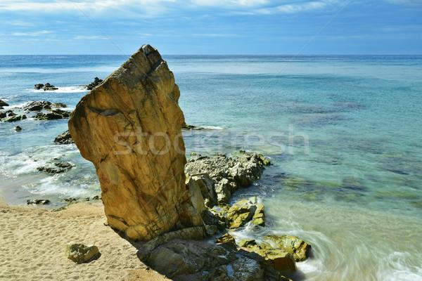 Platja de Lloret beach in Lloret de Mar, Spain Stock photo © nito