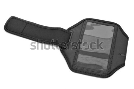 running armband for smartphone or MP3 player Stock photo © nito