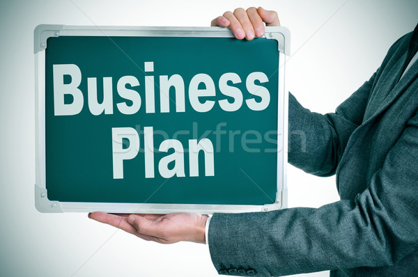 business plan Stock photo © nito