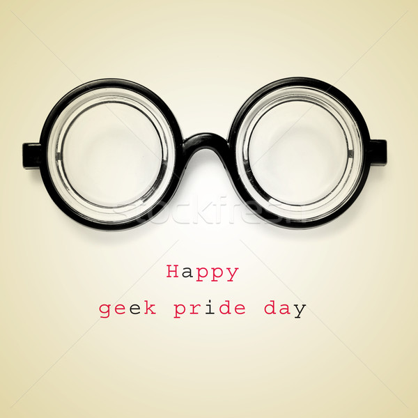 happy geek pride day Stock photo © nito