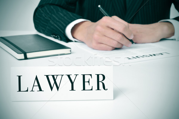 lawyer Stock photo © nito